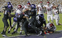 0910 TCU Arkansas (paulmoseleyphotos) Tags: 0910tcuarkansasfootballsportsbig12collegefortworth paul moseley paulmoseleyphotos fort worth dallas texas photo photographer photojournalism canon eos porsche carrera 911sc 911t 911s 911l 911e 356 914 928 cayman boxster cayenne macan fuchs german germany volkswagen gti r32 rangers mlb stars nhl tcu horned frogs cowboys nfl mavericks mavs nba woodrow wilson high 1972 fortworth tx