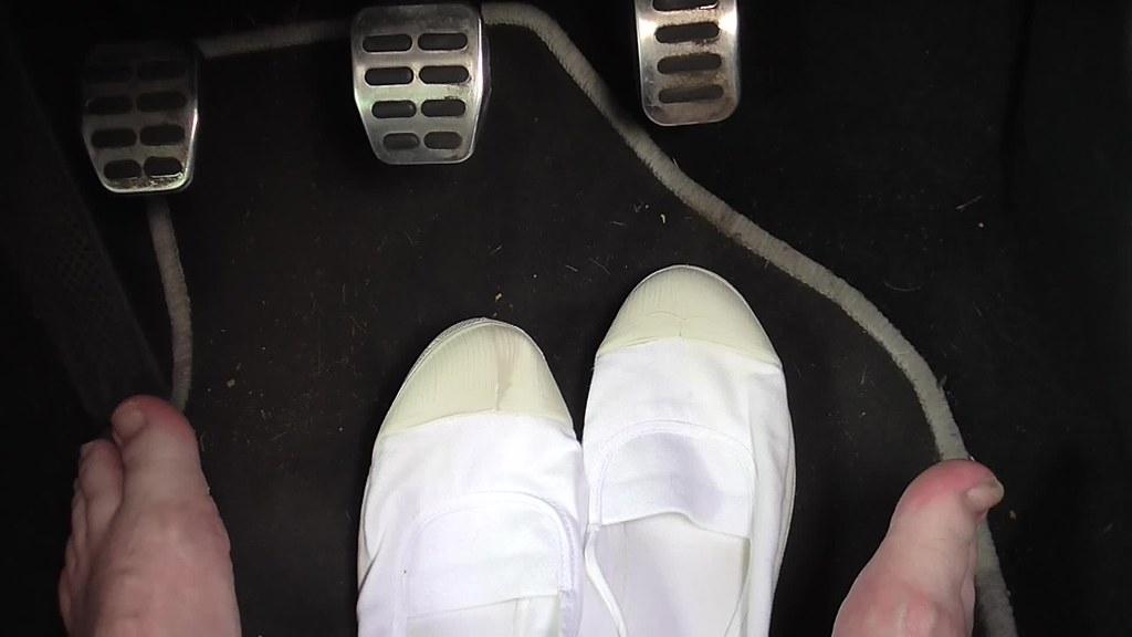 Fetish Pedal Pumping Sneaker - Nude Photos-1181