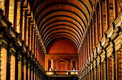 The Long Room at the Old Library (ArmyJacket) Tags: trinitycollege dublin ireland building historic architecture library college landmark