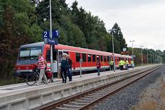 Von Willingen nach Usseln (dieter.steffmann) Tags: rothaargebirge hochsauerland uplandsteig usseln willingenbahnhofusseln regionalbahn