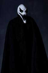 Halloween Ghoul (Transient Eternal) Tags: events halloween bad black bones cape celebration cloak costume death drape evil fangs fear frighten ghosts ghoul goblin gore grimreaper holiday mask monster nightmare scary skeleton skull spirit teeth terrifying