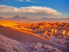 Landscape of mountain range in Chile / Landschaft der Bergkette in Chile