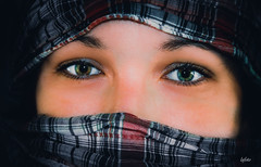 regard (lafoto.) Tags: regard yeux portrait visage femme modle vie belle light voile couleurs