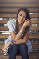 (dimitryroulland) Tags: nikon d600 85mm 18 dimitry roulland portrait fashion natural light urban street city bordeaux france blue eyes