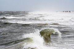 Change of weather (martinstelbrink) Tags: baltrum insel island nordsee northsea sturm storm wellen waves surf brandung strand beach germany niedersachsen lowersaxony ostfriesland eastfrisia sony alpha77ii sigma120400mmf4556 sigma tele