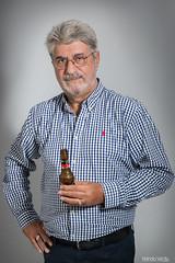 KDD Taller - Pedro 02 (Nando Verd) Tags: quedada kdd kedada taller canonistas alicantinos retrato clase hombre gafas cerveza elda petrer alicante seor sesion estudio beauty flash persona
