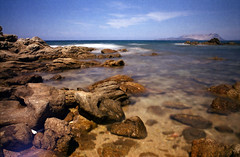 Film is not dead 2 (Claudio Taras) Tags: claudio contrasto canona1 ndx1000 nd3 onde ombre mare colore sardegna santeodoro canon 35mmfilm taras longexposure 24mm