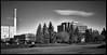 Moncton Skyline (coldwar_bonnet) Tags: bw moncton lomofake views100 ef28105 eos7d