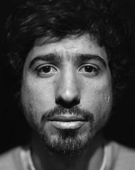 [ Frederic ] (FrancoisConstant) Tags: portrait blackandwhite man film analog noiretblanc 4x5 f2 f56 largeformat homme argentique sinar 210mm grandformat sinaron