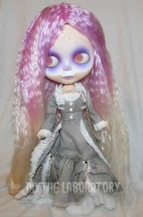 As always, must try on Seven (Blythe Laboratory) Tags: ombre lilac mohairreroot blythereroot customdye blythelaboratory