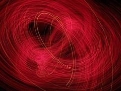 Flight of the Angels (waruzm) Tags: christmas pink tree lights cameratoss icm intentionalcameramovement