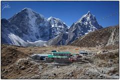 The worst long drop in the Himalayas (Frank Kehren) Tags: nepal trekking canon hiking prayerflags himalaya f11 24105 longdrop dughla khumbuglacier pittoilet canonef24105mmf4lis ef24105mmf4lisusm cholatse taboche canoneos5dmarkii sagarmathazone everestbasecamptrekkingroute