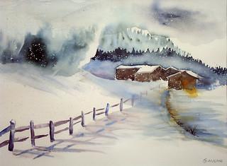 3 Winterlandschaft
