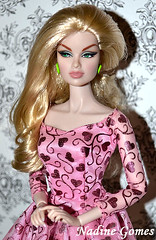 Anja (Nadine Gomes) Tags: fashion set toys doll jet class collection business convention royalty anja integrity 2011
