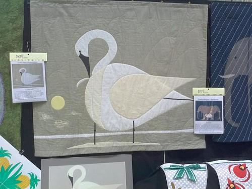 Trumpeter Swan quilt