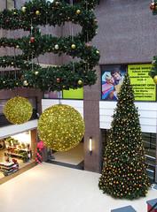 Kerstboom 7 meter hoog (Olga and Peter) Tags: mall christmastree diemen kerstboom wilhelminaplein winkelcentrum gimg4148