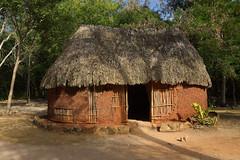 Mayan Hut (elhawk) Tags: chichenitza hut mayan thatched