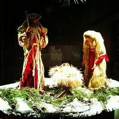 135. 24.12.2012 Holy night (berttuco) Tags: christmas xmas espaa square navidad spain gijn lofi asturias squareformat gijon nochebuena iphone beln flickraward iphone4 hollynight iphoneography instagramapp uploaded:by=instagram foursquare:venue=4e60148a62e13e3bcd9d967f