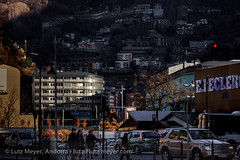 Andorra city views: Escaldes (lutzmeyer) Tags: pictures city winter sunset photography town europe december afternoon sonnenuntergang sundown photos pics centre ciudad center images fotos stadt invierno dezember andorra bilder imagen diciembre pyrenees iberia ciutat pirineos pirineus iberianpeninsula pyrenen imatges hivern desembre nachmittag escaldes andorralavella iberischehalbinsel stadtgebiet andorracity lutzmeyer lutzlutzmeyercom