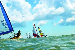 solent sailing (saturdaytypefever) Tags: uk sea sky waves sailing racing solent laser portsmouth topper dinghy gosport