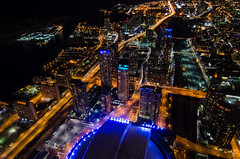 One Year Later (Empty Quarter) Tags: longexposure toronto tower cn observation nikon downtown cntower center tokina deck rogers gardiner expressway f28 cityplace rogerscentre 1116 gorillapod d7000
