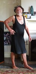 Wetlook silk (Jack Williams) Tags: male men wet freestyle dresses wetlook meninfrocks frocks menindresses mandress malefashion wetguy