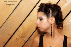 Andrea (Incbi) Tags: vienna wood girl fashion hair punk flickr picture makeup pic portrt shooting holz