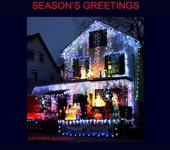 Seasons Greetings, Scenes from New England (alan jackman) Tags: bear christmas xmas blue winter light lights decoration noel carole wisemen seasonsgreetings choirboys d7000 nikond7000 jackmanonjazz alanjackman choralers