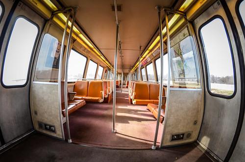 DC Metro fisheye