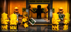 The HazmatGuys new project. (69zombieslayer) Tags: google lego minigun googlesearch minifigures legominifigures minifigcat hazmatguy citizenbrick legohazmatguy hazmatguysbunker