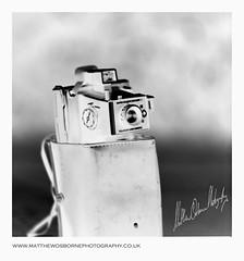 1976 Polaroid Land Camera (MrLeica.com (MatthewOsbornePhotography)) Tags: camera uk bw white black 120 6x6 film zeiss mediumformat square polaroid mono bokeh trix cm 180 400 soviet 28 cz analogue v600 rodinal russian 13 developed kiev88 1100 landcamera xtol sonnar arax selfdeveloped filmphotography sqaureformat 400800 hasselbladski matthewosbornephotography araxcm wwwmatthewosbornephotographycouk