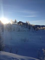 -20 og nydelig vr p Botn Vest (lstuvik) Tags: norway vinter telemark sn haukeli botn vgslid vgsli iphoneography botnvest