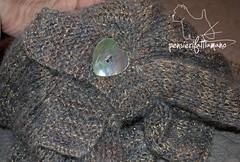 completo_lame_6 (pizzatomariacristina) Tags: lana knitting handmade cloche maglia ferri mohai berretto fattoamano lamè