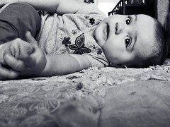 1.4.13 (Sundance Kid.) Tags: blackandwhite baby sun day daughter babygirl 365 lennon fms theviewfromhere 365project 365photo 365photochallenge flickrandroidapp:filter=none fmsphotoaday