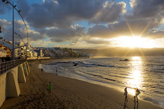 Gran Canaria 2012 (Leroysunshine) Tags: city sunset españa beach grancanaria ferry canon buildings island spain playa 2012 laspalmas islascanarias lascanteras eos60d
