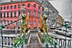 Bank Bridge. (Fin.travel) Tags: nikon nikkor hdr sanktpeterburg d700 bankbridge 1424mm