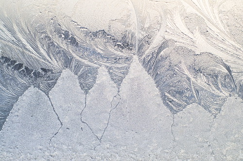 frost painted mountains