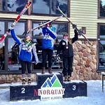 Van Houtte GS, Norquay - Charley Field 1st, Stephanie Gartner 2nd (day 1) PHOTO CREDIT: Gregor Druzina