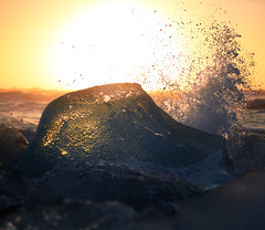 Sunny ice. (Kurok_Alex) Tags: ice nature iceland iceberg ze jkulsrln planart1485 zeisscontest2012