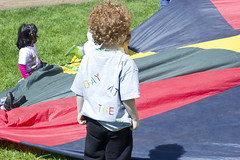 Children's Center Day on the Quad