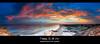 Patience (Kiall Frost) Tags: pink blue sunset people orange sun colour beach yellow crazy sand nikon rocks surf australia redhead nsw sharktower d7000 kiallfrost