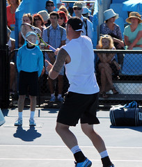 Duckworth & Guccione/Groth & Reid (Tibes) Tags: canon court photography eos photo flickr shot photos australian teens australia melbourne victoria tennis teen photograph teenager aus racket racquet doubles ausopen 1100d eos1100d ausopen2013