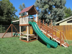 IMG_1262 (Swing Set Solutions) Tags: set play swings vinyl slide structure swing solutions playset polyvinyl