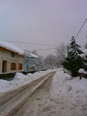 Snow accumulates ....... Petrinja January 2013 (seanfderry-studenna) Tags: croatia balkans postwar hrvatska balkan petrinja