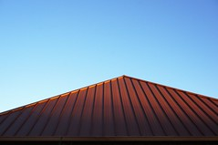 Sunset on a Tin Roof (parmo) Tags: shadow austin texas geometry tx minimalism pleasantvalley geometryineverydaylife
