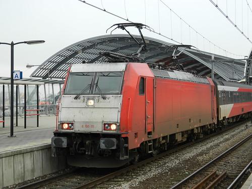NS HiSpeed E186 111, Amsterdam Centraal