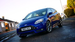 Ford Focus ST (ST3) in Spirit Blue (al broon) Tags: blue ford st focus spirit st3 afsdxvrzoomnikkor18200mmf3556gifed worldcars
