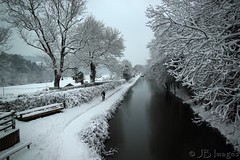 Winsley (J.B.Images) Tags: winter white snow cold reflection heritage ice river mirror canal bath swindon freezing clear freeze icy wiltshire nationaltrust detailed explored royalwoottonbassett