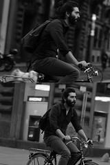 [La Mia Citt][Pedala] (Urca) Tags: portrait blackandwhite bw milano bn ciclista biancoenero 2012 bicicletta pedalare dittico 47375 ritrattostradale nikondigitalefilippetta