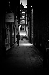 Elemis (Nick Lambert!) Tags: street blackandwhite bw london alley fuji vignette streetscape elemis nicklambert fujix100 fujinonasphericallens